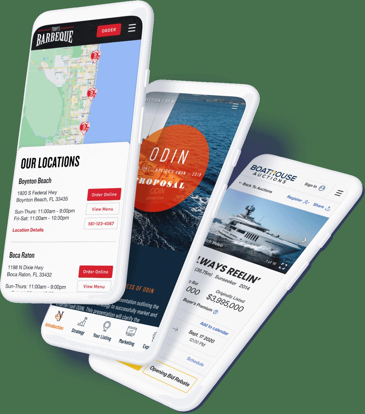 Custon Website Design and Development in Delray Beach, South Florida.